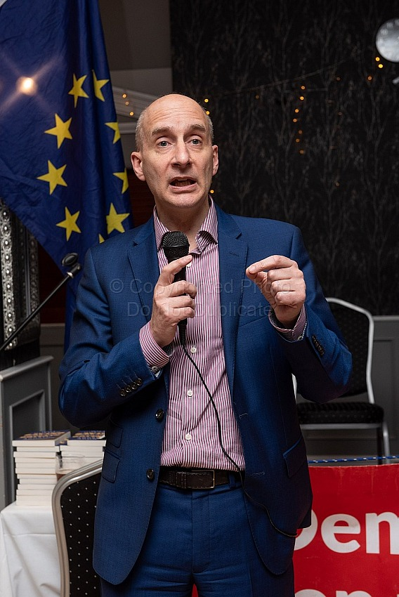 Andrew Adonis at Dorset For Europe