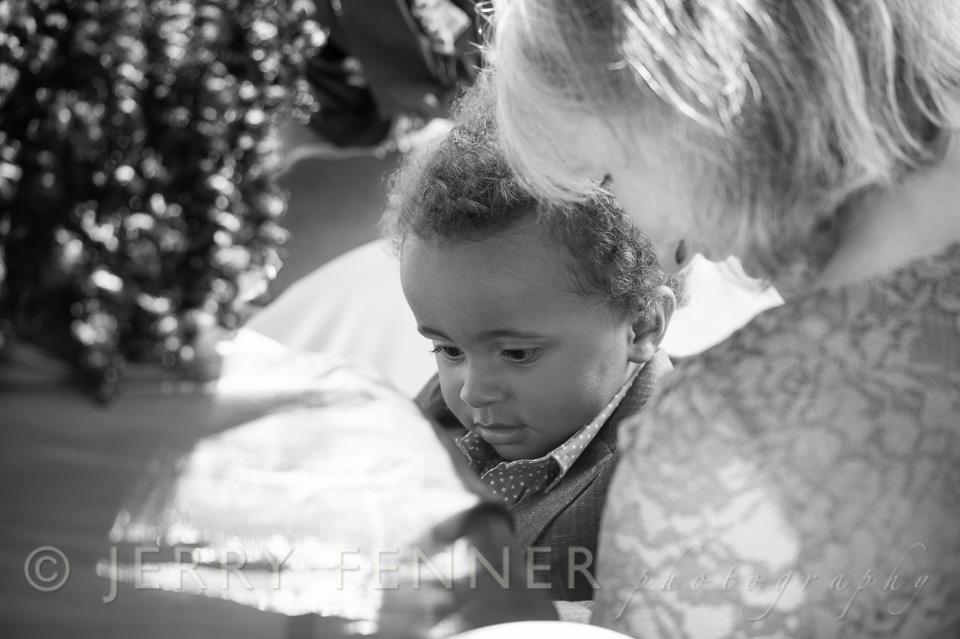 Gorgeous boy at the Highcliffe wedding