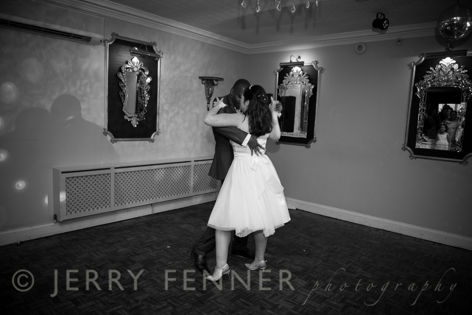 Salsa First Dance at The Lord Bute
