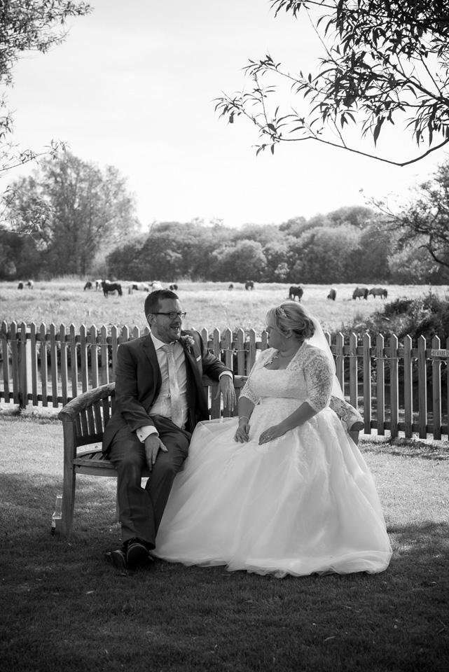Rural wedding in Dorset