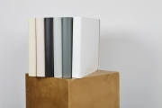 Beautiful recycled leather guest books