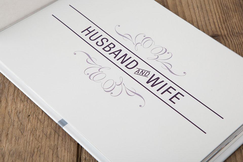 Wedding Signing Book Detail