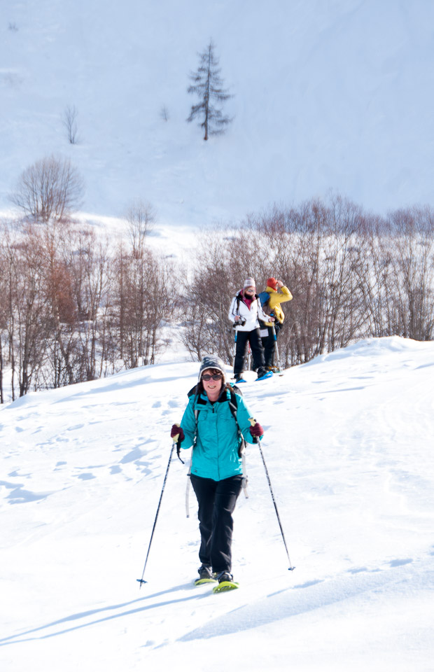 Snowshoeing with Undiscovered Alps