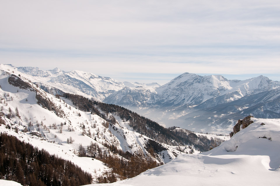 Snowshoeing with Undiscovered Alps in such beautiful conditions