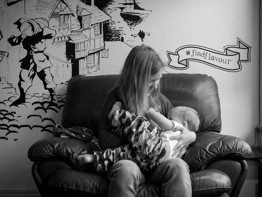 Find flavour breastfeeding