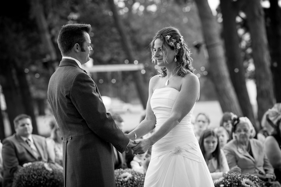 Getting married under the trees in the New Forest