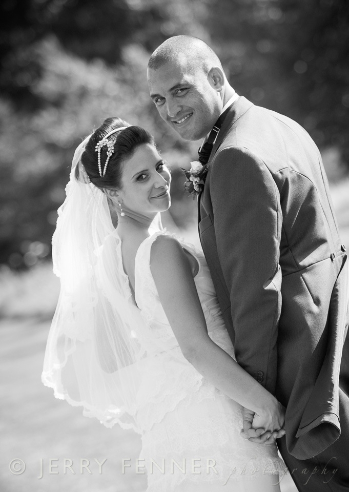 Black and white photography at Parley Manor Weddings