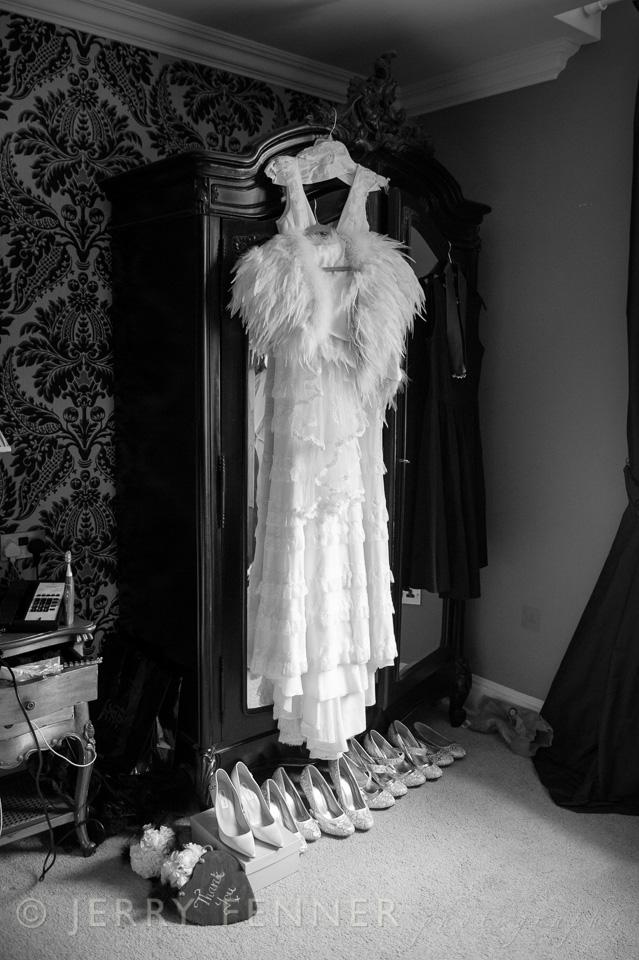 East Close Hotel Bride preparations