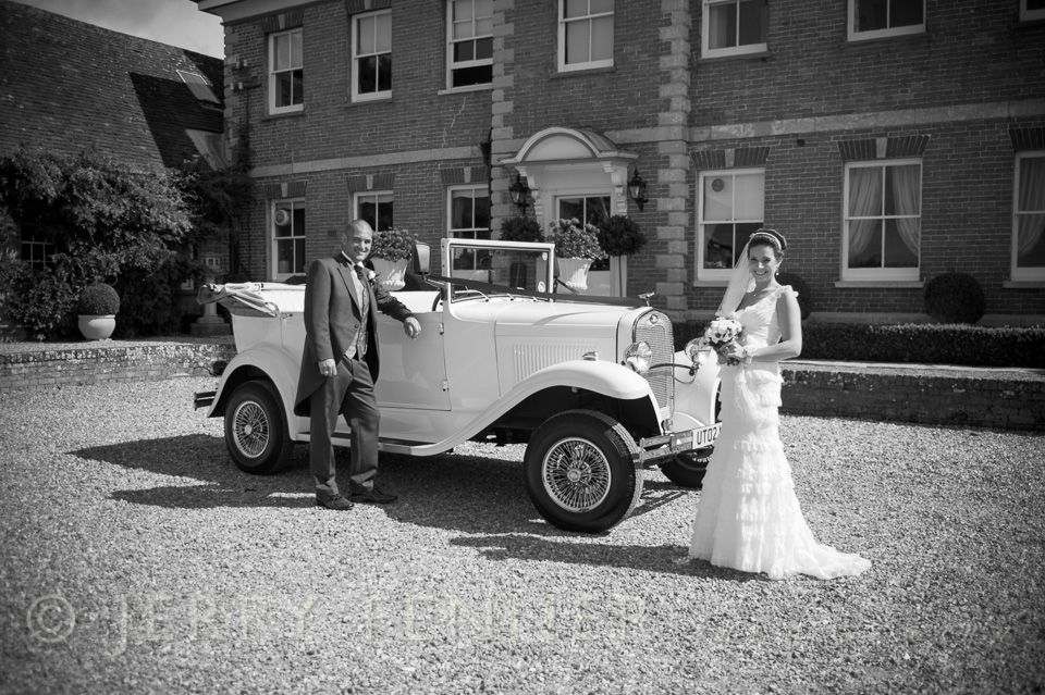 Wedding photography at Parley Manor in Dorset