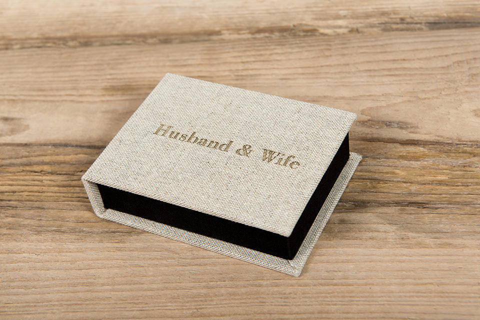 USB box for wedding photography