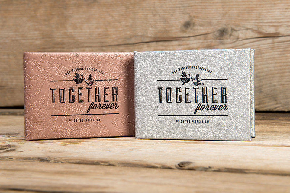 USB boxes for wedding photography