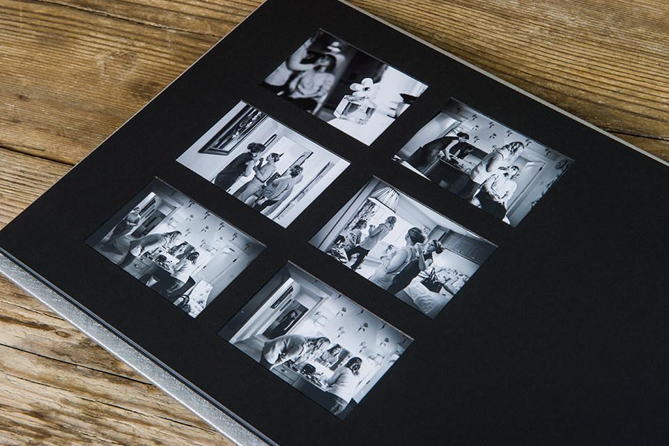 Apetura Wedding Album Matted overlays