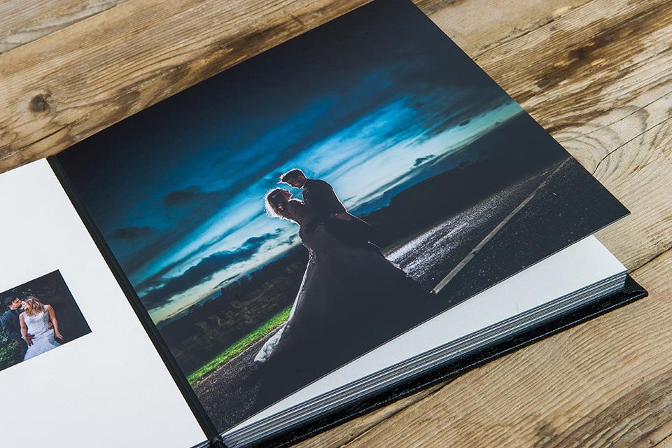 Wedding Album Apetura Pages